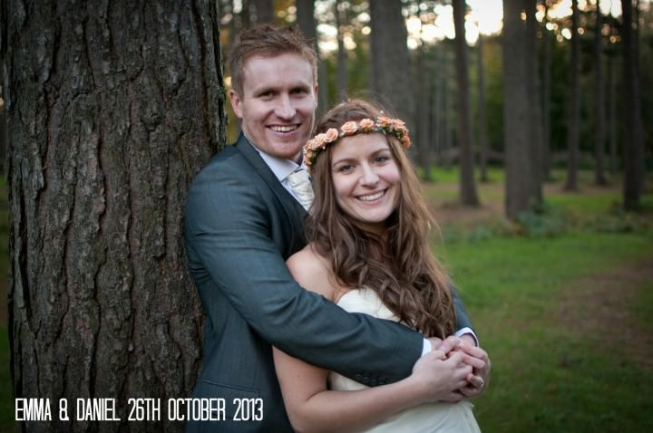 1 Emma & Daniel's Rustic Woodland Wedding. By Jay Morgan