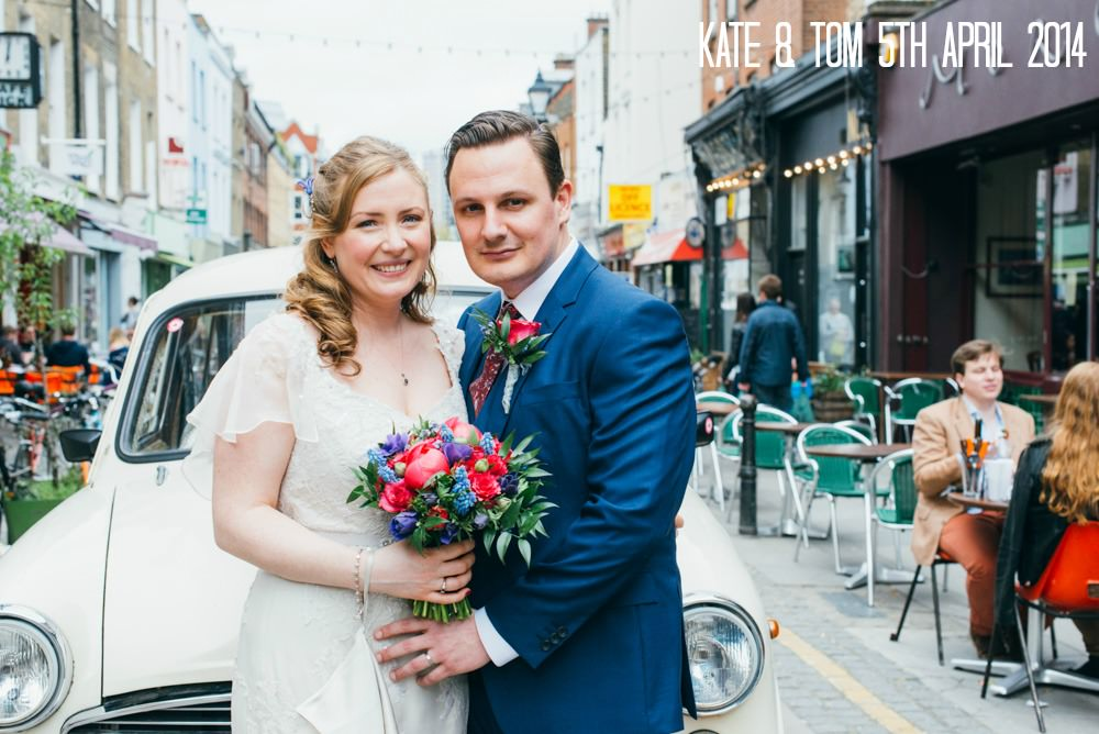 1 Kate & Tom's London Wedding of Favourite Things. By Laura Babb