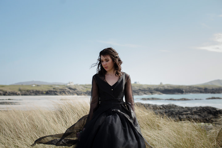 1 Song to the Siren. A Styled Shoot on a Scottish Isle