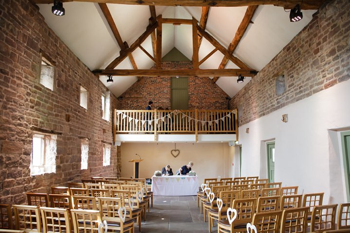 10 Kerry & Paul's Soft Pastel, Barn Wedding. By Tux and Tales