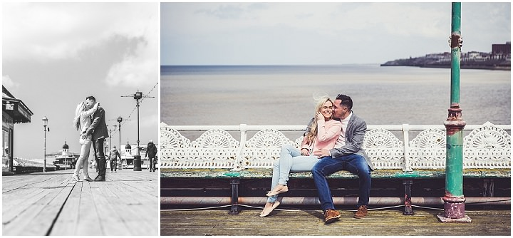 10 Rebecca & Gary's Blackpool Pre-Wedding Shoot. By Claire Penn