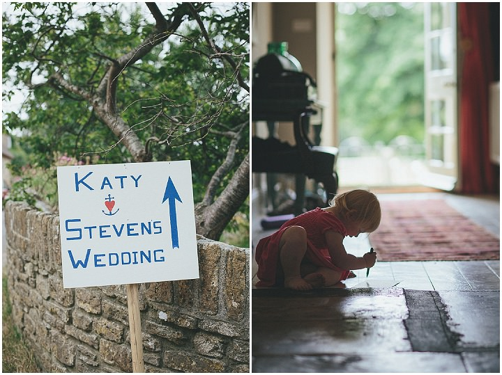 11 Katy & Steven's Navy Dorset Barn Wedding. By Helen Lisk