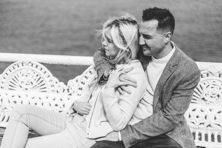 11 Rebecca & Gary's Blackpool Pre-Wedding Shoot. By Claire Penn
