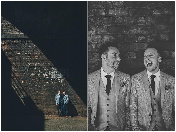 12 Andrew & Glenn's Mr Perfect Manchester Wedding. By Nicola Thompson