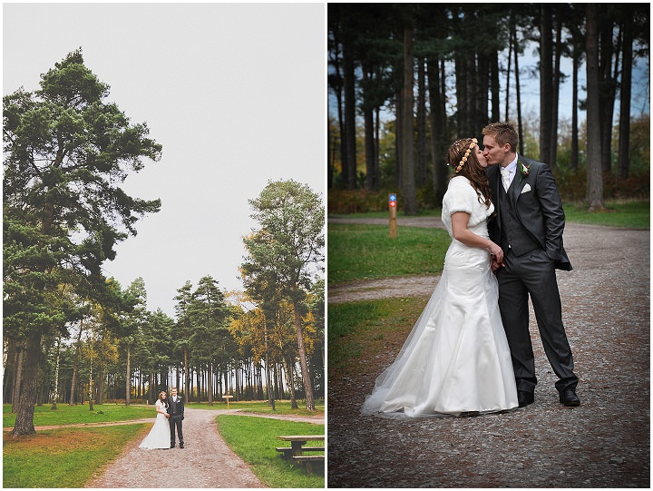 12 Emma & Daniel's Rustic Woodland Wedding. By Jay Morgan