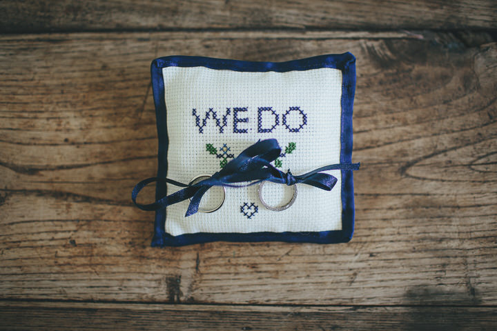12 Katy & Steven's Navy Dorset Barn Wedding. By Helen Lisk