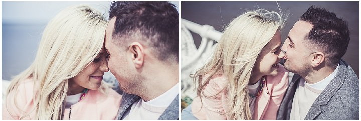 12 Rebecca & Gary's Blackpool Pre-Wedding Shoot. By Claire Penn