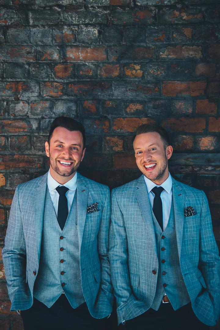 13 Andrew & Glenn's Mr Perfect Manchester Wedding. By Nicola Thompson