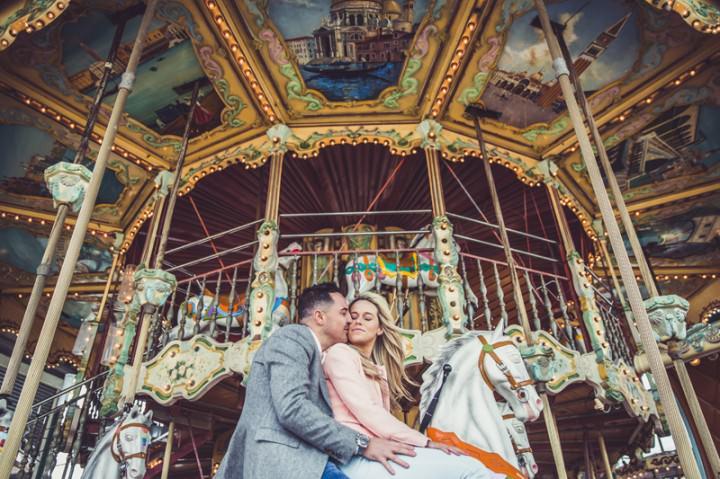 13 Rebecca & Gary's Blackpool Pre-Wedding Shoot. By Claire Penn