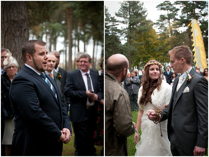 14 Emma & Daniel's Rustic Woodland Wedding. By Jay Morgan