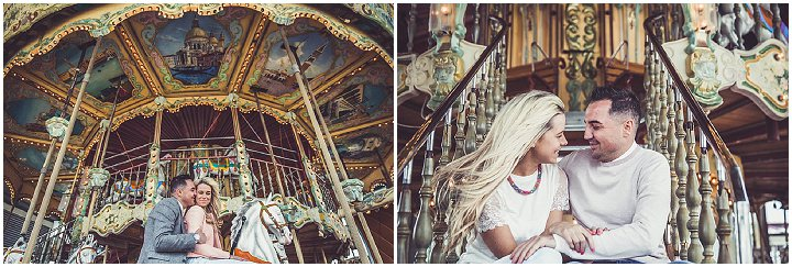14 Rebecca & Gary's Blackpool Pre-Wedding Shoot. By Claire Penn