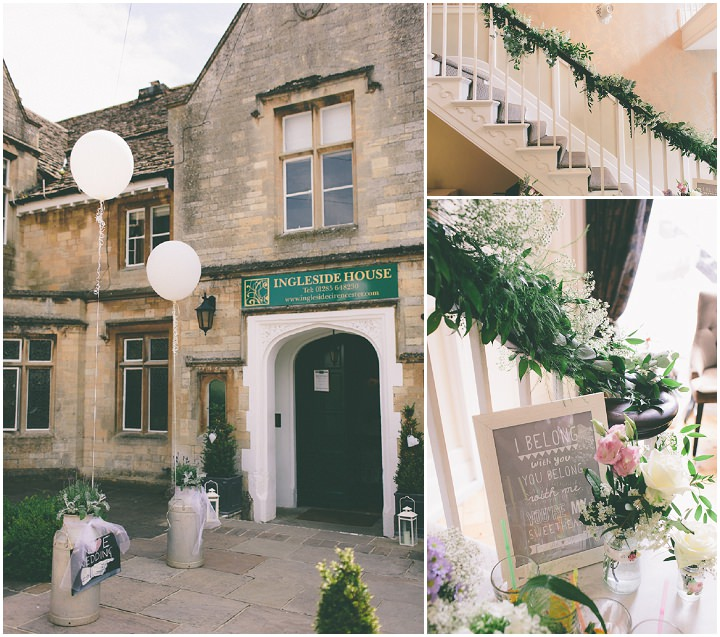 16 Ellie & Neil's Vintage, Shabby Chic Wedding. By Scuffins Photography