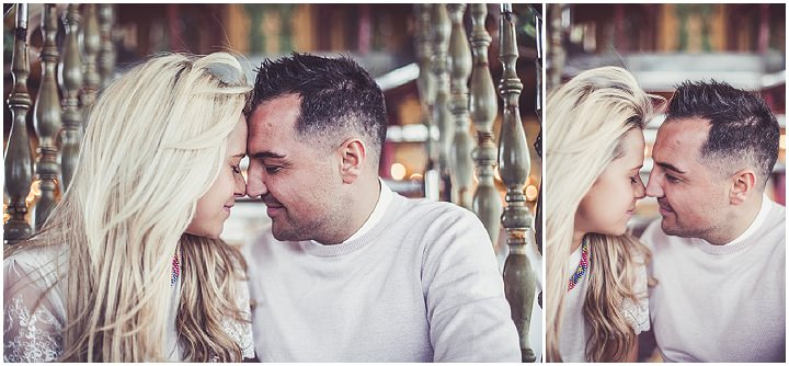 16 Rebecca & Gary's Blackpool Pre-Wedding Shoot. By Claire Penn