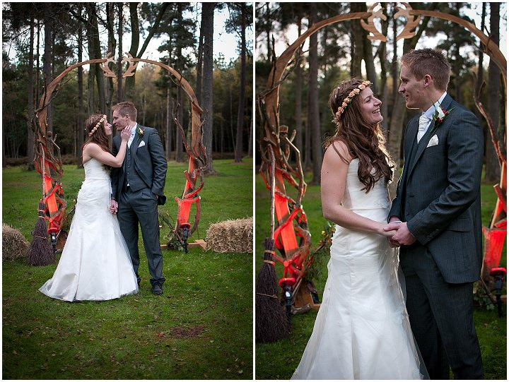 17 Emma & Daniel's Rustic Woodland Wedding. By Jay Morgan