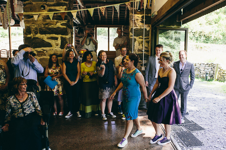 17 Lyndsey & Ffion's Relaxed, Multicultural Wedding. By Vickerstaff Photography