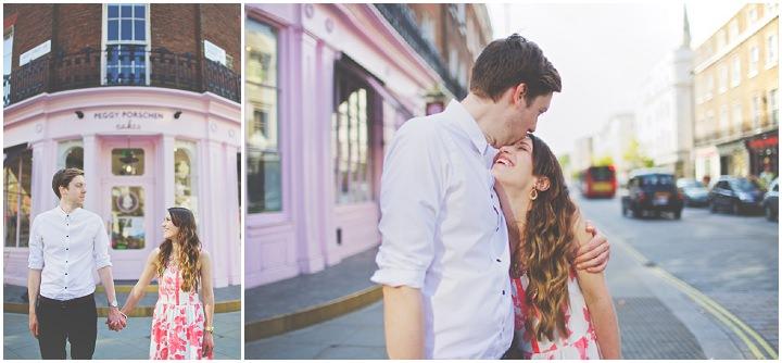 18 Emily & Michael's Belgravia Pre-wedding Shoot. By Jacob & Pauline Photography