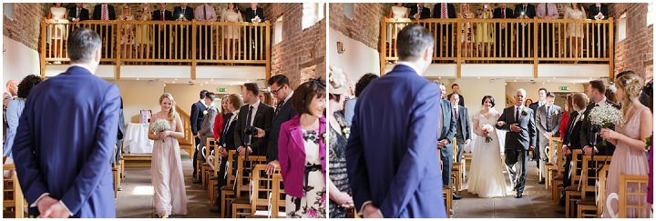 18 Kerry & Paul's Soft Pastel, Barn Wedding. By Tux and Tales