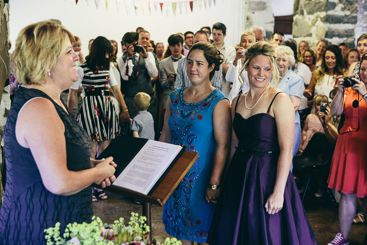 18 Lyndsey & Ffion's Relaxed, Multicultural Wedding. By Vickerstaff Photography