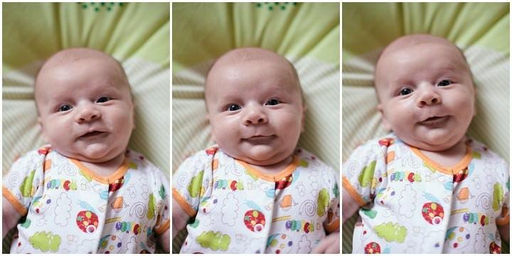 Over on A Boho Life - My Little Man, Dexter: 2 - 8 Weeks