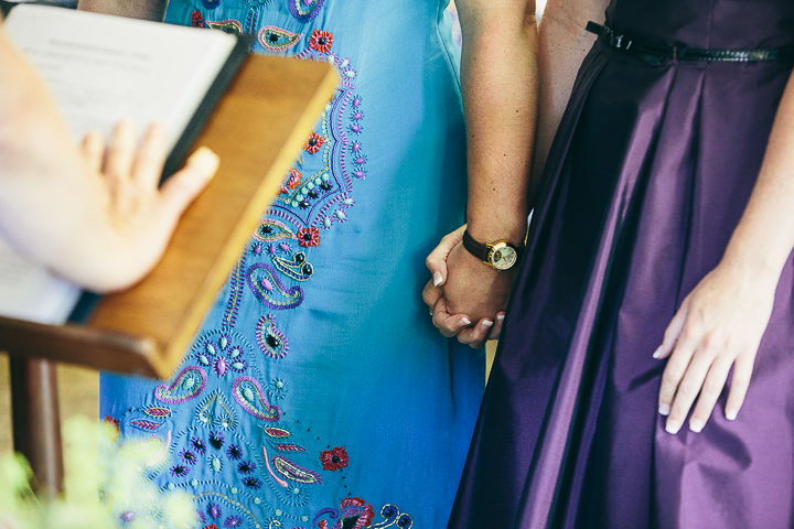 19 Lyndsey & Ffion's Relaxed, Multicultural Wedding. By Vickerstaff Photography