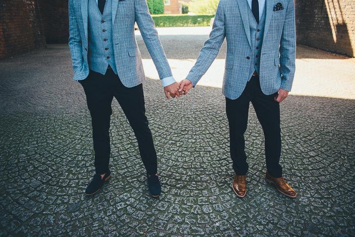 2 Andrew & Glenn's Mr Perfect Manchester Wedding. By Nicola Thompson