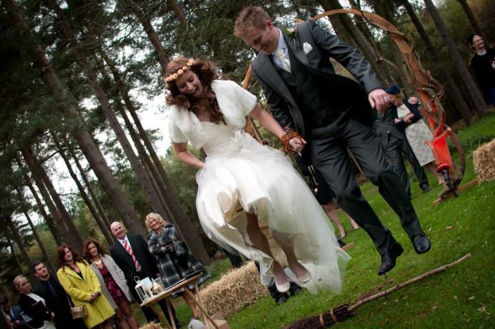 2 Emma & Daniel's Rustic Woodland Wedding. By Jay Morgan