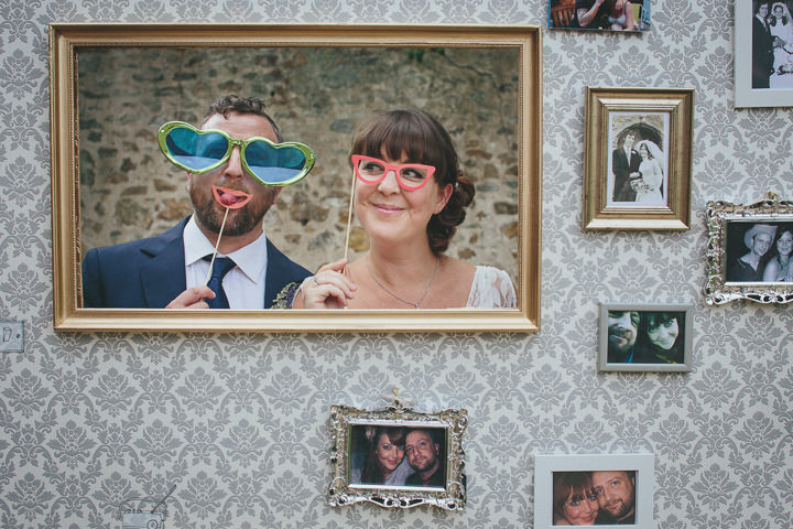 2 Katy & Steven's Navy Dorset Barn Wedding. By Helen Lisk