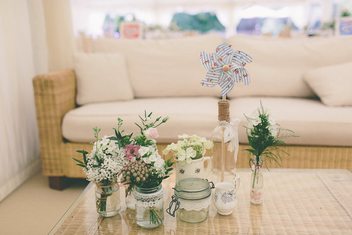 20 Ellie & Neil's Vintage, Shabby Chic Wedding. By Scuffins Photography