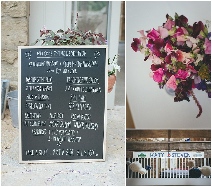 20 Katy & Steven's Navy Dorset Barn Wedding. By Helen Lisk