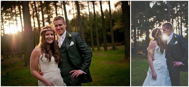 23 Emma & Daniel's Rustic Woodland Wedding. By Jay Morgan