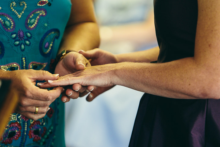 23 Lyndsey & Ffion's Relaxed, Multicultural Wedding. By Vickerstaff Photography