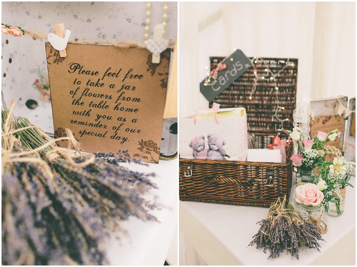 24 Ellie & Neil's Vintage, Shabby Chic Wedding. By Scuffins Photography