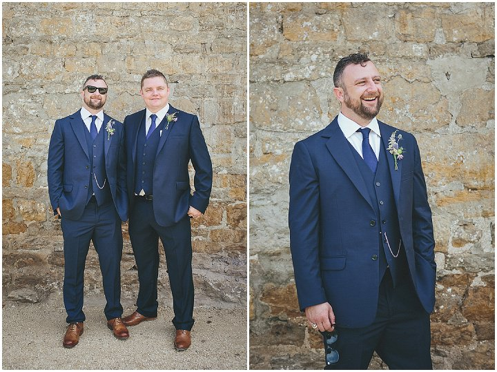 24 Katy & Steven's Navy Dorset Barn Wedding. By Helen Lisk