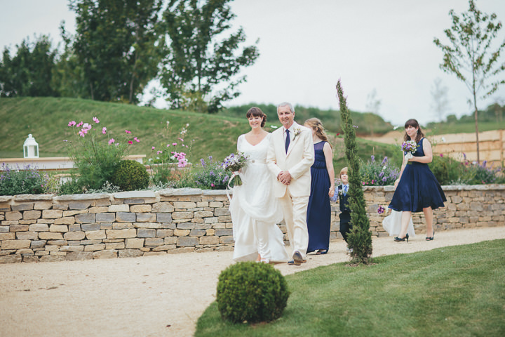 25 Katy & Steven's Navy Dorset Barn Wedding. By Helen Lisk