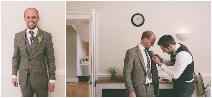 27 Ellie & Neil's Vintage, Shabby Chic Wedding. By Scuffins Photography