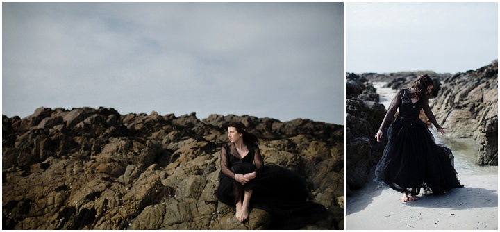 28 Song to the Siren. A Styled Shoot on a Scottish Isle