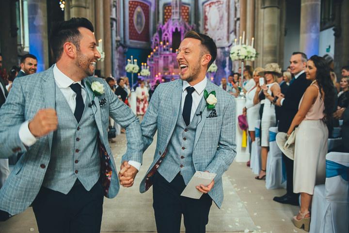 29 Andrew & Glenn's Mr Perfect Manchester Wedding. By Nicola Thompson