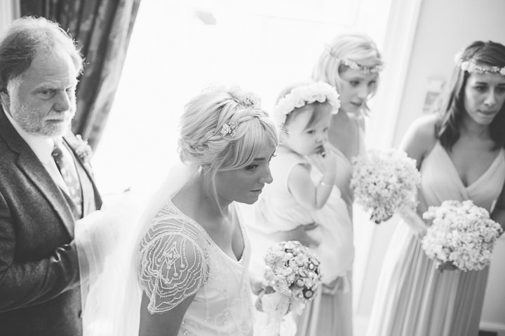 29 Ellie & Neil's Vintage, Shabby Chic Wedding. By Scuffins Photography