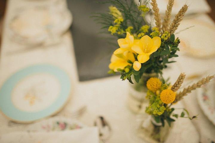 3 Katie & Chris' Vintage Inspired Rustic Wedding. By Funky Pixel