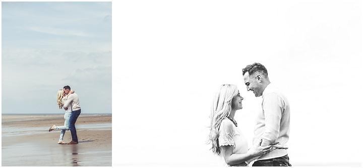 30 Rebecca & Gary's Blackpool Pre-Wedding Shoot. By Claire Penn
