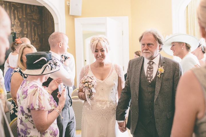 31 Ellie & Neil's Vintage, Shabby Chic Wedding. By Scuffins Photography