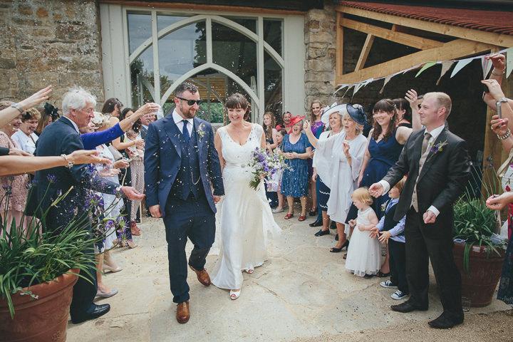 Navy Dorset Barn Wedding. By Helen Lisk
