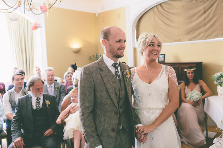 32 Ellie & Neil's Vintage, Shabby Chic Wedding. By Scuffins Photography