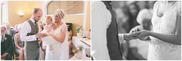 33 Ellie & Neil's Vintage, Shabby Chic Wedding. By Scuffins Photography