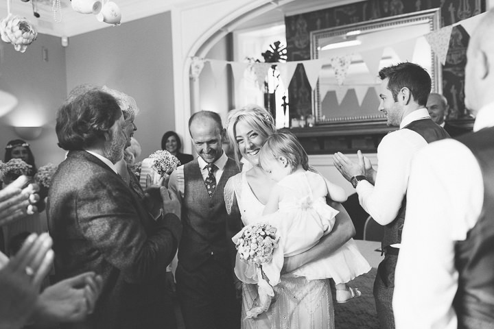 34 Ellie & Neil's Vintage, Shabby Chic Wedding. By Scuffins Photography