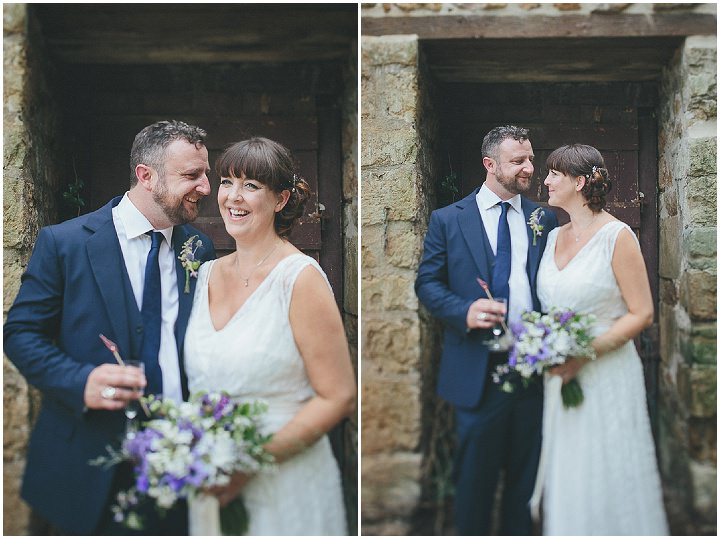 36 Katy & Steven's Navy Dorset Barn Wedding. By Helen Lisk