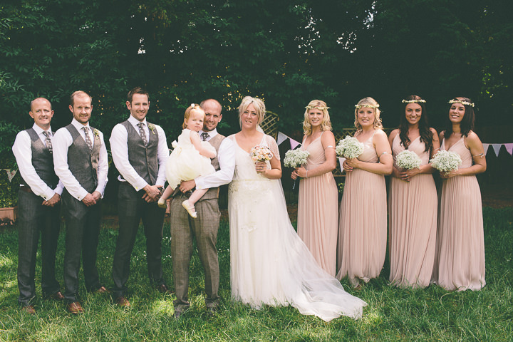 38 Ellie & Neil's Vintage, Shabby Chic Wedding. By Scuffins Photography