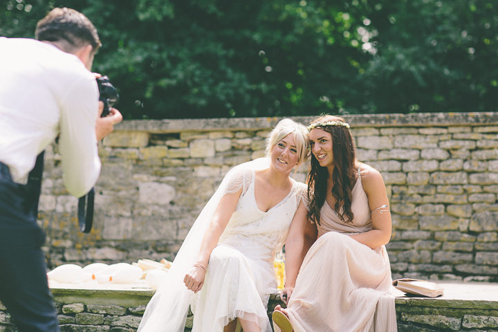 39 Ellie & Neil's Vintage, Shabby Chic Wedding. By Scuffins Photography