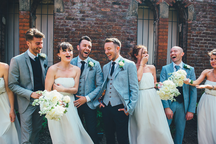 4 Andrew & Glenn's Mr Perfect Manchester Wedding. By Nicola Thompson