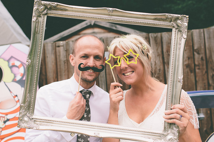 4 Ellie & Neil's Vintage, Shabby Chic Wedding. By Scuffins Photography